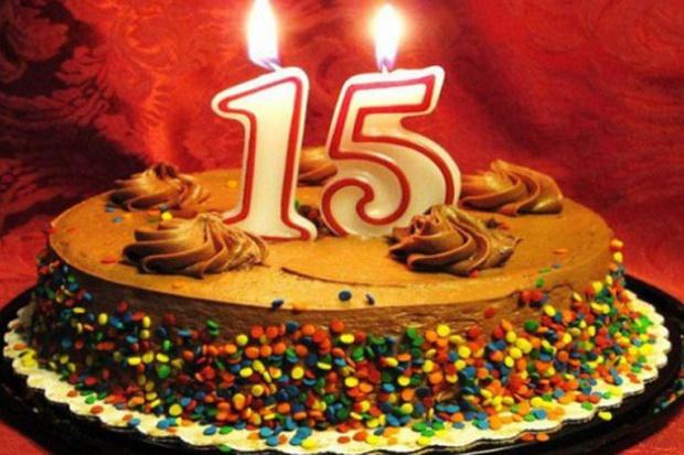 С днем рождения я для 15лет